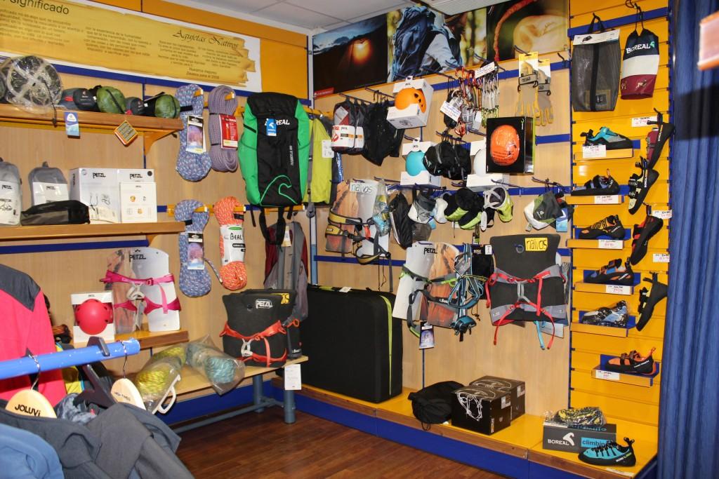 Fotos tienda agujetas materiladeescalada.com