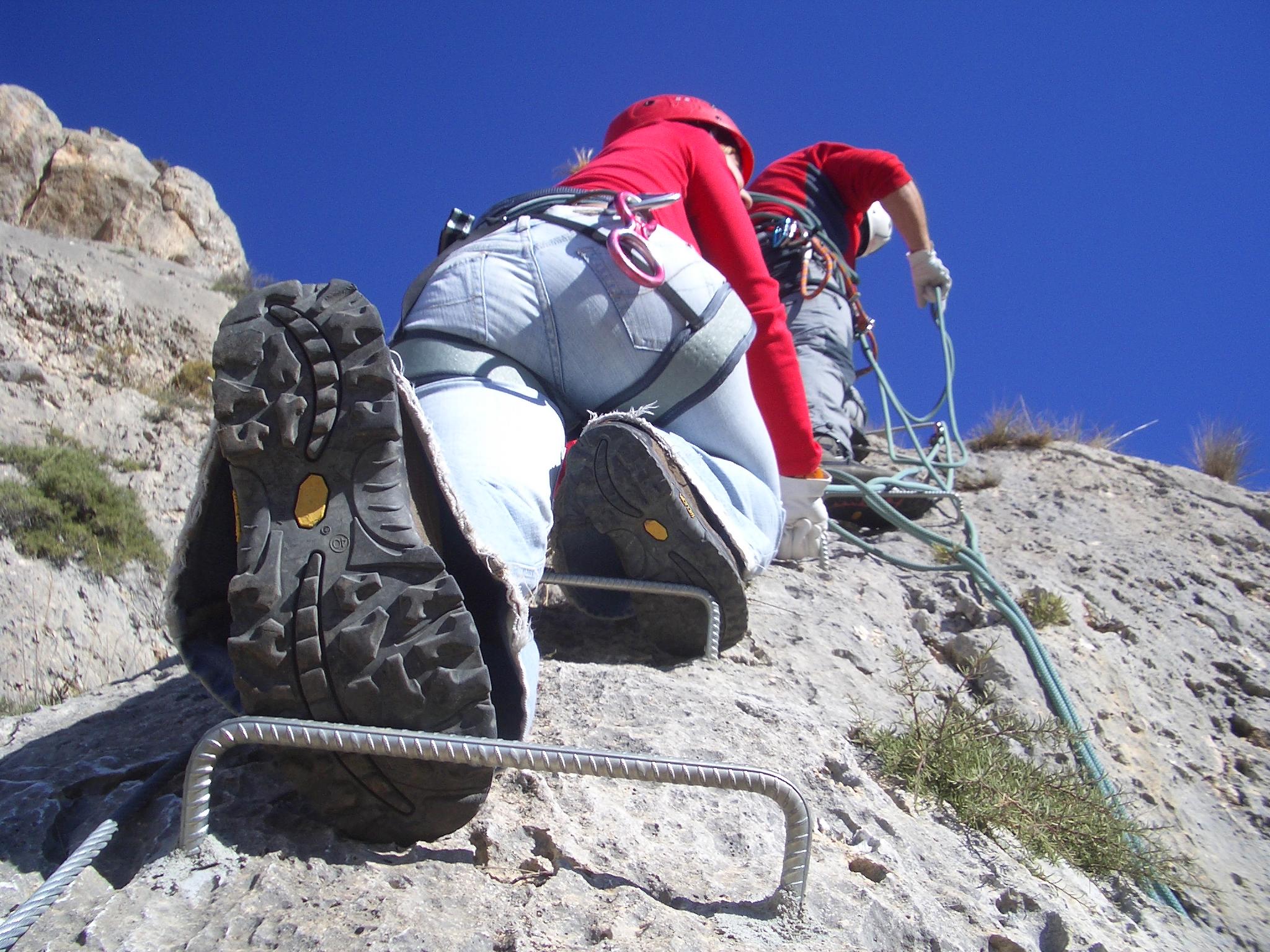 Alquiler de material de escalada y montaña